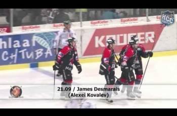 Embedded thumbnail for EHC Viège - HC La Chaux-de-Fonds (5-1)