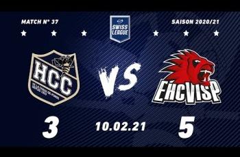 Embedded thumbnail for HC La Chaux-de-Fonds – EHC Viège  (3-5)