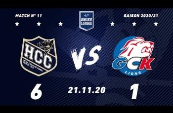 Embedded thumbnail for HC La Chaux-de-Fonds – GCK Lions (6-1)