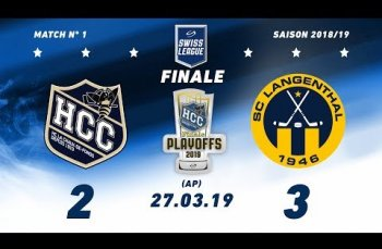 Embedded thumbnail for HC La Chaux-de-Fonds – SC Langenthal (2-3) AP