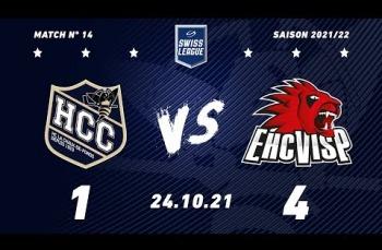 Embedded thumbnail for HC La Chaux-de-Fonds – EHC Viège (1-4)