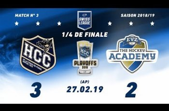 Embedded thumbnail for HC La Chaux-de-Fonds – EVZ Academy (3-2) AP