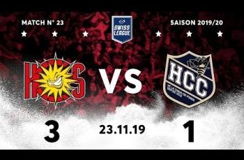 Embedded thumbnail for HC Sierre - HC La Chaux-de-Fonds (3-1)