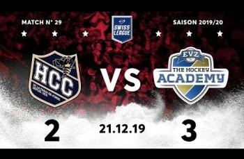 Embedded thumbnail for HC La Chaux-de-Fonds – EVZ Academy (2-3)