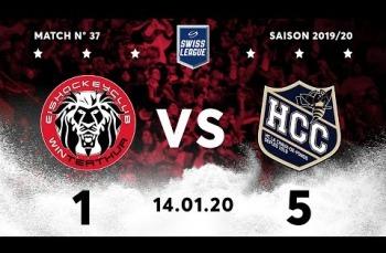 Embedded thumbnail for EHC Winterthur - HC La Chaux-de-Fonds (1-5)