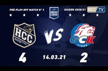 Embedded thumbnail for HC La Chaux-de-Fonds – GCK Lions (4-2)