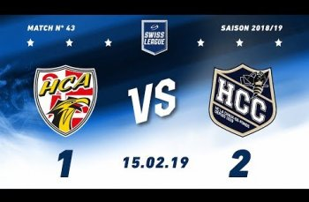 Embedded thumbnail for HC Ajoie - HC La Chaux-de-Fonds (1-2)
