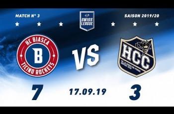 Embedded thumbnail for HC Biasca Ticino Rockets - HC La Chaux-de-Fonds (7-3)