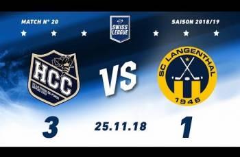 Embedded thumbnail for HC La Chaux-de-Fonds – SC Langenthal (3-1)