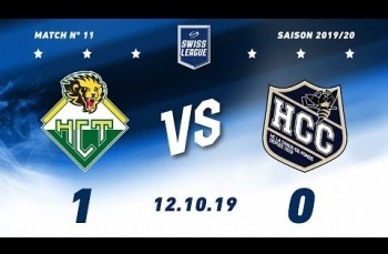Embedded thumbnail for HC Thurgau -  HC La Chaux-de-Fonds (1-0)
