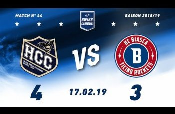 Embedded thumbnail for HC La Chaux-de-Fonds – HC Biasca Ticino Rockets (4-3)