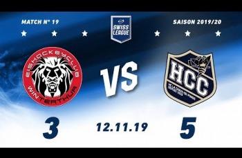 Embedded thumbnail for EHC Winterthur – HC La Chaux-de-Fonds (3-5)