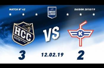 Embedded thumbnail for HC La Chaux-de-Fonds – EHC Kloten (3-2)