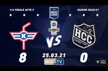 Embedded thumbnail for EHC Kloten - HC La Chaux-de-Fonds (8-0)