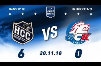 Embedded thumbnail for HC La Chaux-de-Fonds – GCK Lions (6-0)