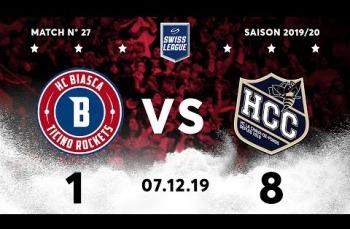 Embedded thumbnail for HC Biasca Ticino Rockets - HC La Chaux-de-Fonds (1-8)