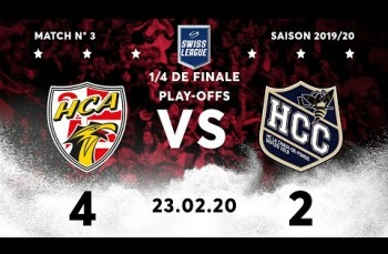 Embedded thumbnail for HC Ajoie - HC La Chaux-de-Fonds (4-2)