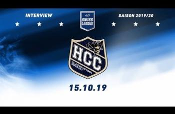 Embedded thumbnail for Interview d'après match HC La Chaux-deFonds – HC Thurgau