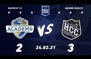 Embedded thumbnail for EVZ Academy - HC La Chaux-de-Fonds (2-3)