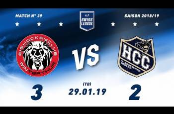 Embedded thumbnail for EHC Winterthur - HC La Chaux-de-Fonds (3-2) TB