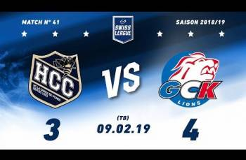 Embedded thumbnail for HC La Chaux-de-Fonds – GCK Lions (3-4) TB