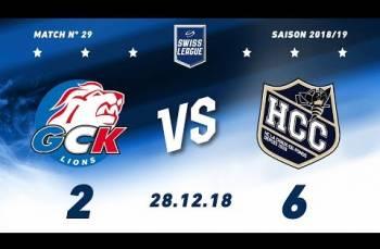 Embedded thumbnail for GCK Lions - HC La Chaux-de-Fonds (2-6)