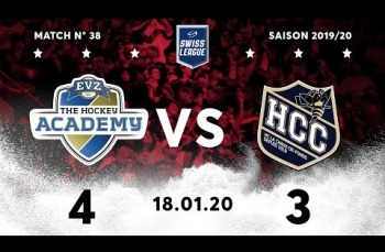 Embedded thumbnail for EVZ Academy - HC La Chaux-de-Fonds (4-3)