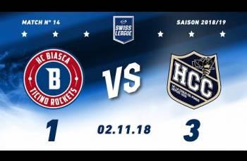 Embedded thumbnail for HC La Chaux-de-Fonds - HC Biasca Ticino Rockets (1-3)