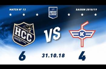 Embedded thumbnail for HC La Chaux-de-Fonds –  EHC Kloten (6-4)