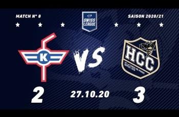 Embedded thumbnail for EHC Kloten - HC La Chaux-de-Fonds (2-3)