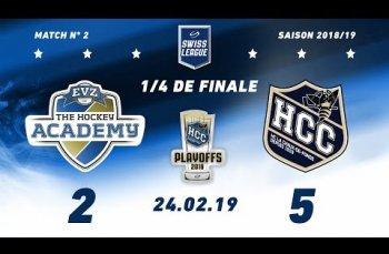 Embedded thumbnail for EVZ Academy - HC La Chaux-de-Fonds (2-5)