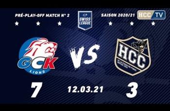 Embedded thumbnail for GCK Lions - HC La Chaux-de-Fonds (7-3)