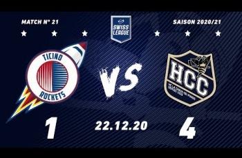 Embedded thumbnail for HCB Ticino Rockets - HC La Chaux-de-Fonds (1-4)