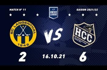 Embedded thumbnail for SC Langenthal - HC La Chaux-de-Fonds (2-6)