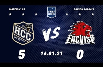 Embedded thumbnail for HC La Chaux-de-Fonds – EHC Viège (5-0)