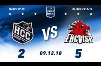 Embedded thumbnail for HC La Chaux-de-Fonds – EHC Viège (2-5)